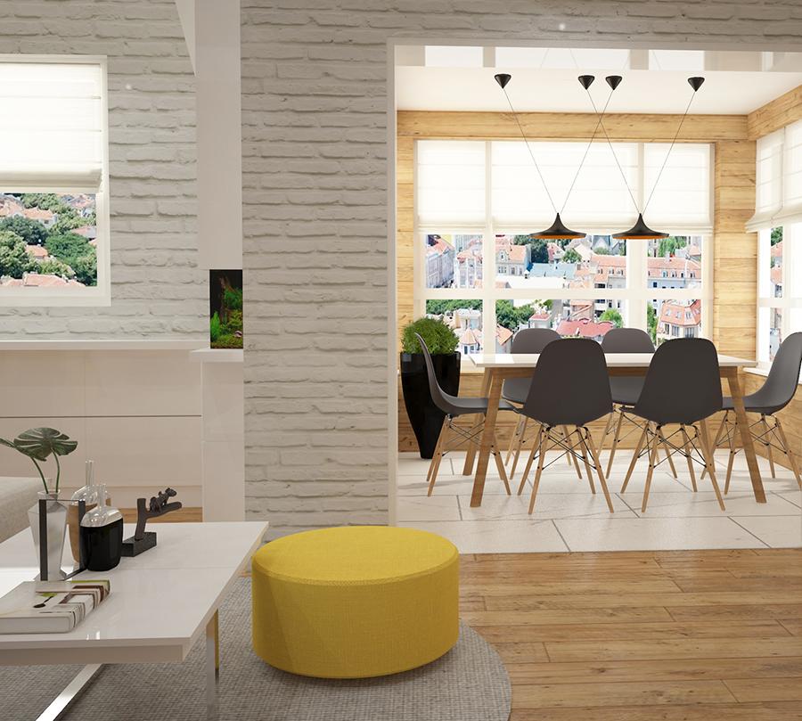 дизайн на трапезария в дневната