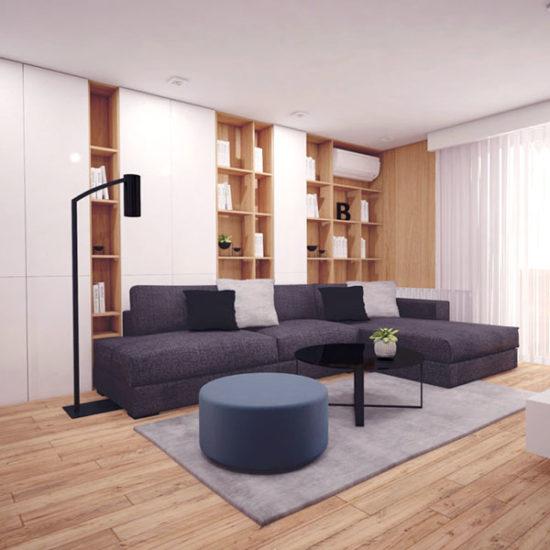 Интериорен дизайн на апартамент-проект Повече дизайн