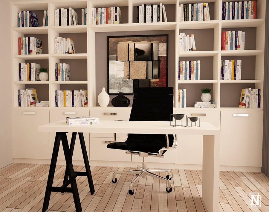 интериорен-проект-на-кабинет-реставрация-на-къща