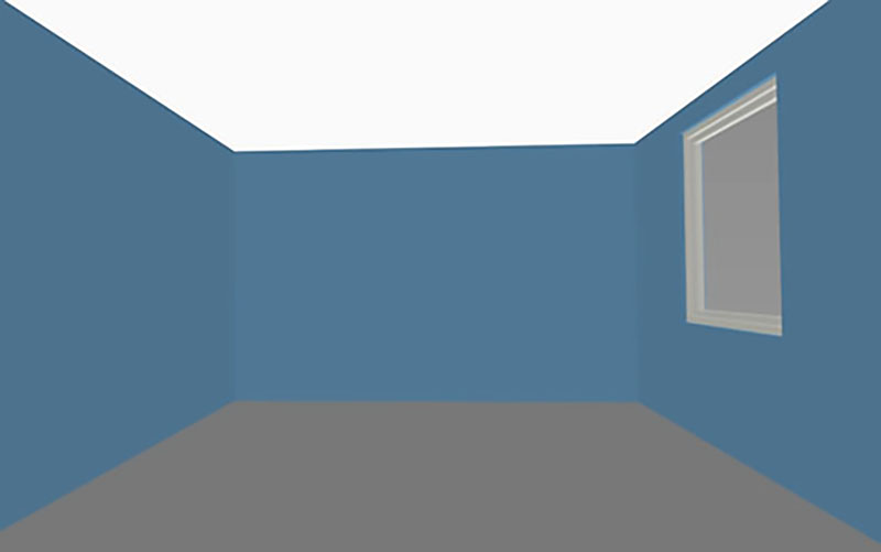 илюзия в интериора по-висок таван