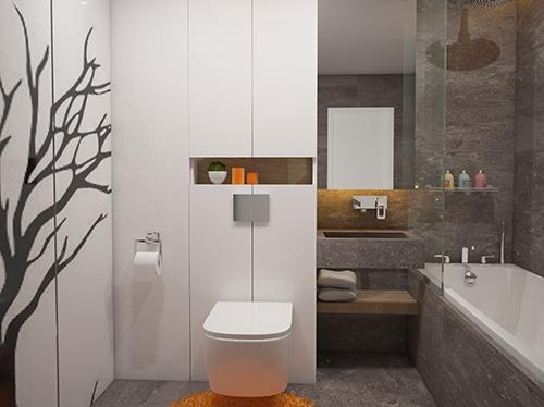 нов дизайн на банята