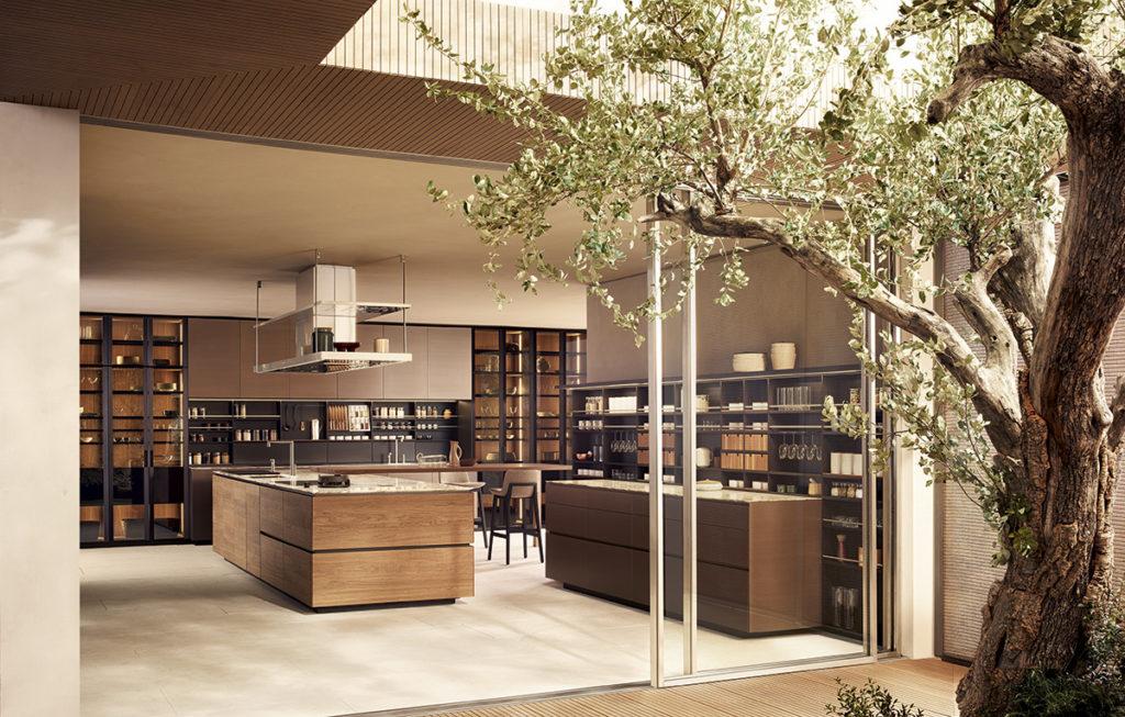 дизайн на кухня от Полиформ