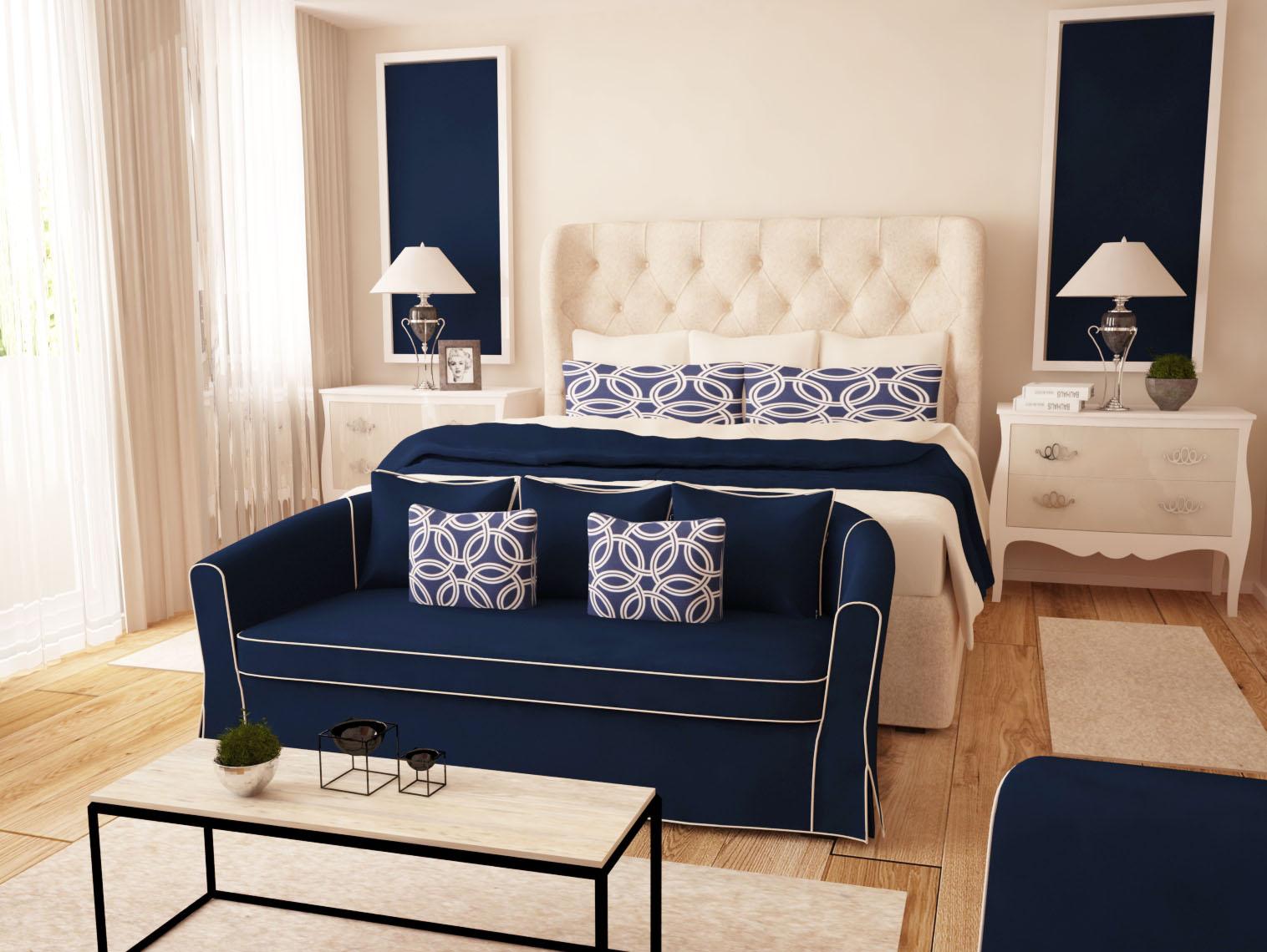интериорен проект спалня