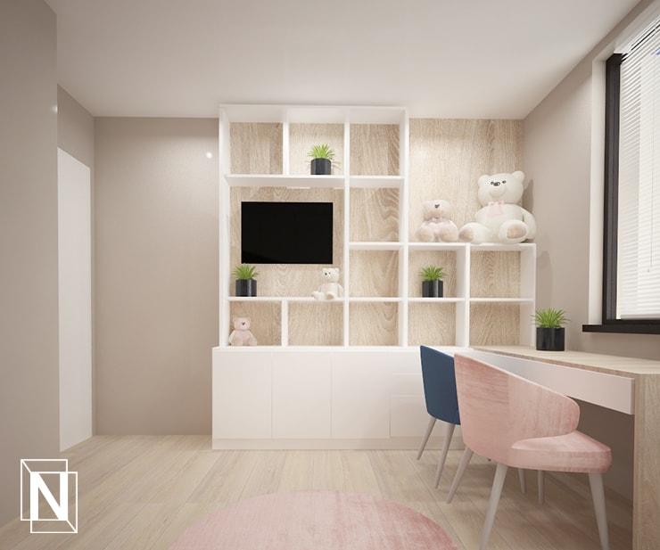 Мебели за тв и книги в детската