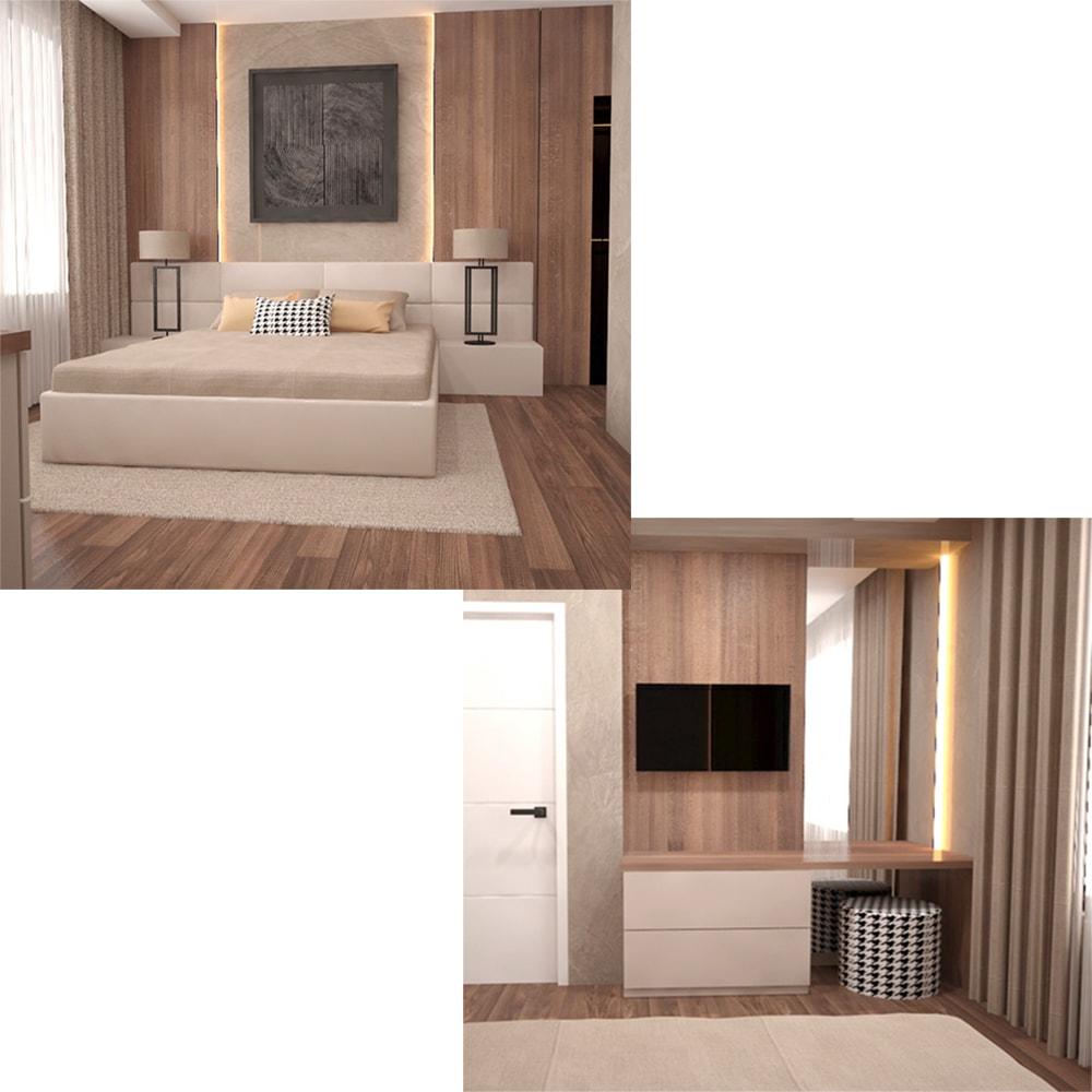 спалня-дизайн- тоалетка-с-тв