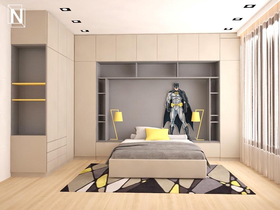 Дизайн на спалня Батман