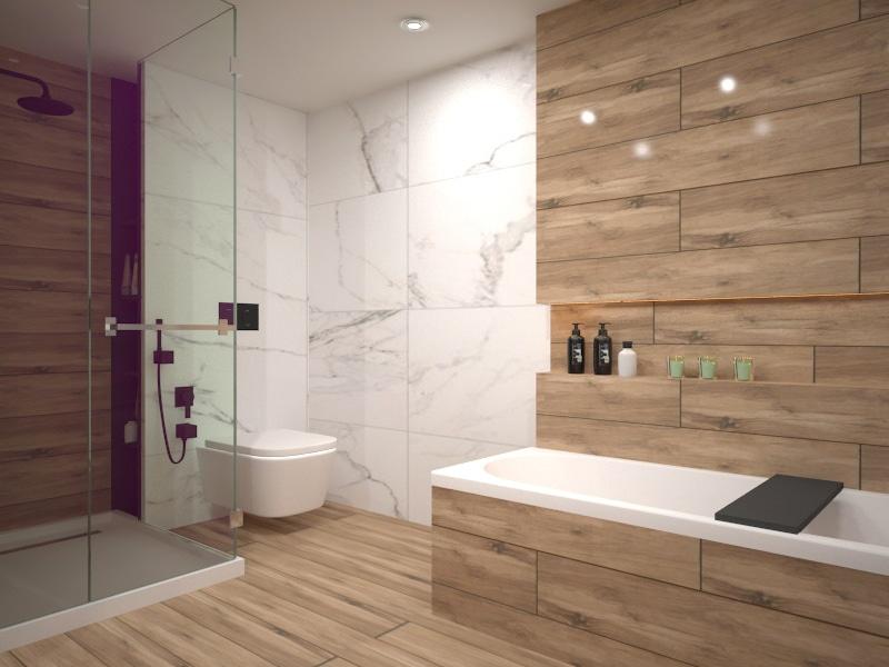 интериорен проект баня