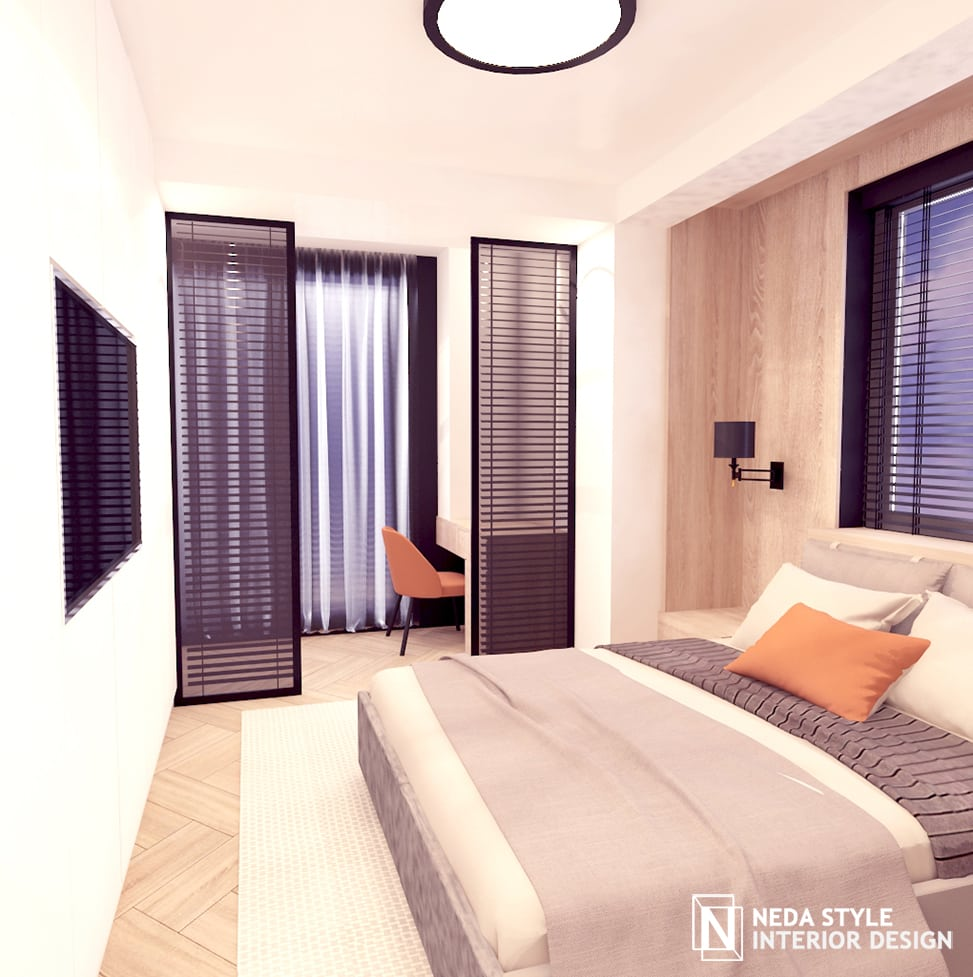интериор спалня